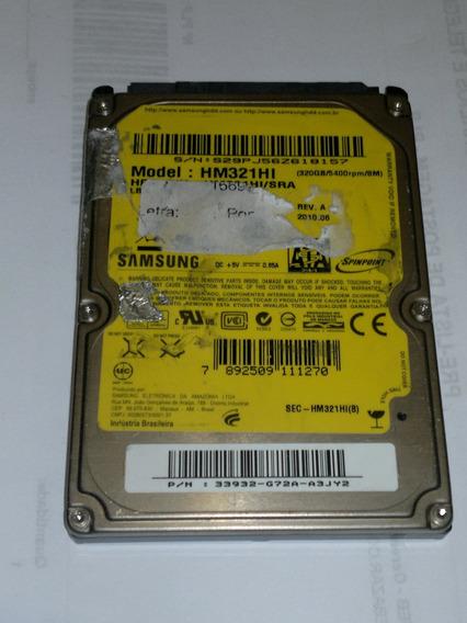 Placa Logica Hd 320 Gb Hm321hi/sra Fw 2aj10001 Cod. A256