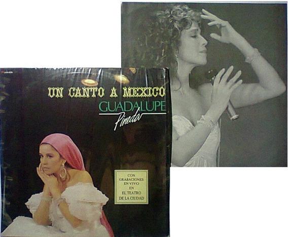 Guadalupe Pineda Canto A Mexico Lp 1ra Edicion De Coleccion