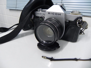 Maquina Fotografica Ricoh S.nglex. Tls Japan Muito Linda,