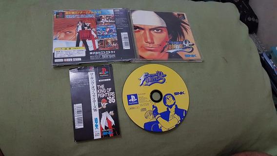 King Of Fighters 95 Japonês Para O Playstation Funcionando 1