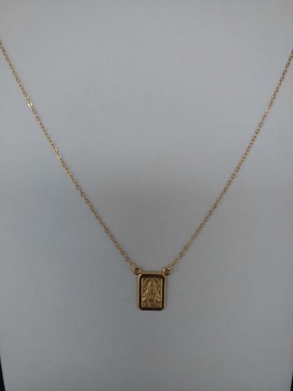 Escapulario Ouro 18(750)