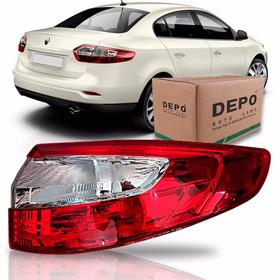 Lanterna Renault Fluence Ano 2011 2012 2013 2014 Depo Ld