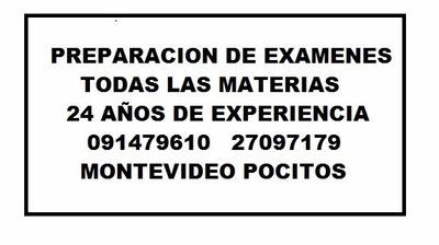 Clases Online Matematica Fisica Quimica Examen Particulares