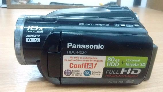 Filmadora Full Hd Panasonic Hdc-hs20 - 1920 X 1080