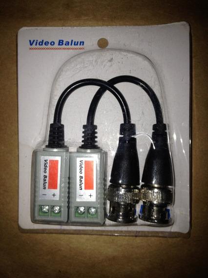 Video Balun Conversor Par Trançado Upt Cat5