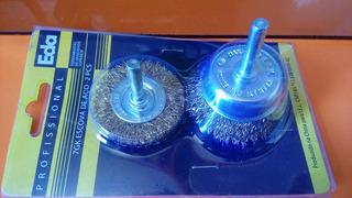 Escovas De Aço Com 02 Peças