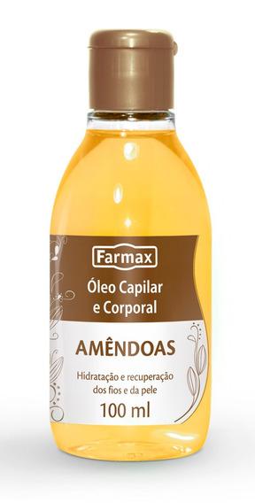 Kit 5 Óleo De Amêndoas Capilar E Corporal !!!