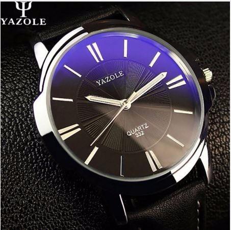 Relógios Masculino Pulso Quartzo Social De Luxo Couro