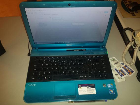 Notebook Vaio Sony I5 Modelo Vpcea43fb 14