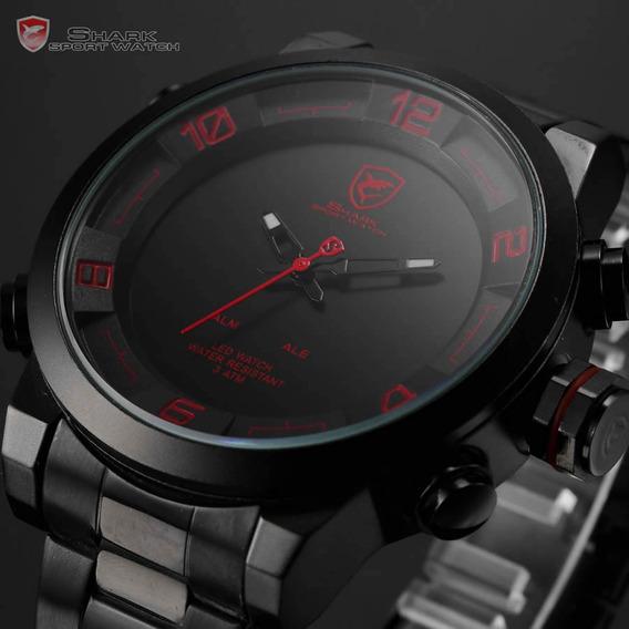 Relógio Pulso Shark Sport Watch Gulper 2ª Series Analógico
