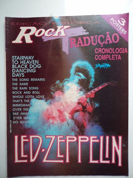 Revista Rock - Led Zeppelin - Editora Sampa