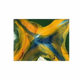 Lindo Quadro De Pintura Abstrata Cód. 001