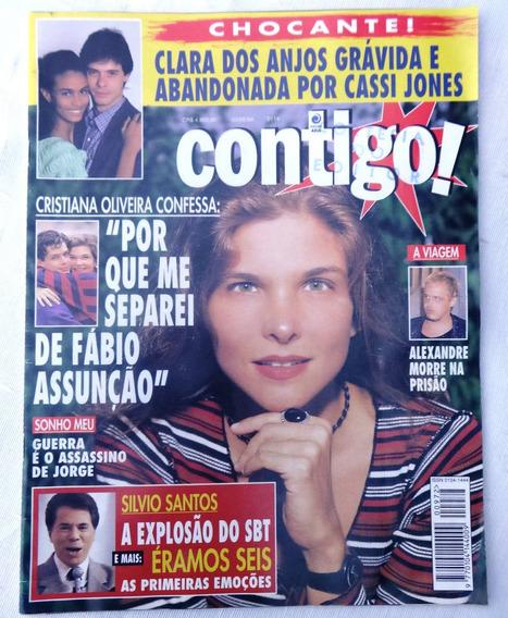Contigo Nº 972: Xuxa - Silvio Santos - Cristiana Oliveira