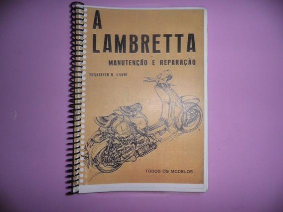 Livro A Lambretta Manutenção E Reparo