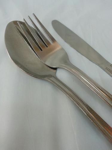 Juego De Cubiertos Cuchara Cuchillo Y Tenedor