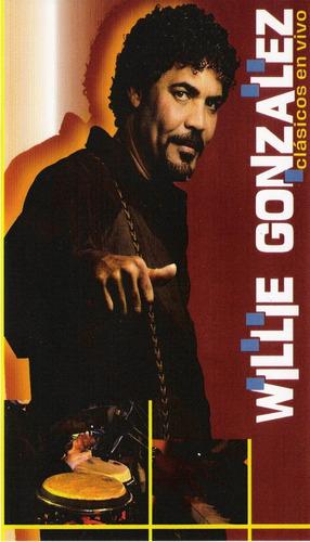 Willie Gonzalez Clasicos En Vivo Dvd