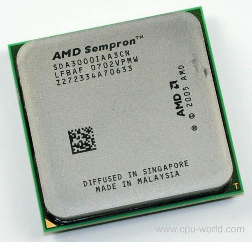 Processador Amd Sempron 3000+ Sda3000iaa3cn