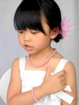 Pretty Princess - Perlas Simplemente Elegante Collar Pulsera