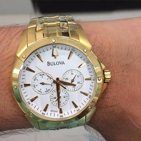 Relógio Bulova Masculino Original Wb21927h.