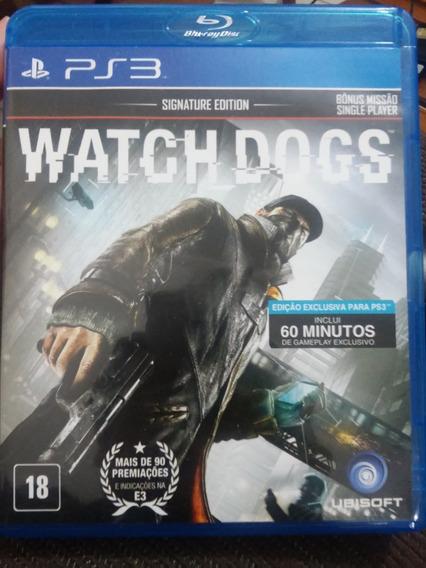 Watch Dogs Ps3 Zerado 100%