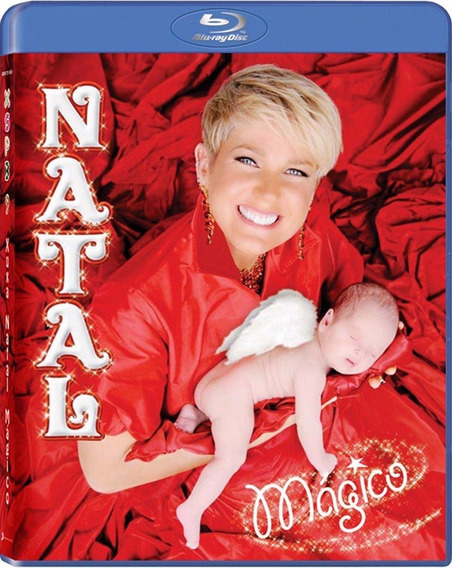 Blu-ray Natal Mágico - Xuxa Só Para Baixinhos 9 - Lacrado!