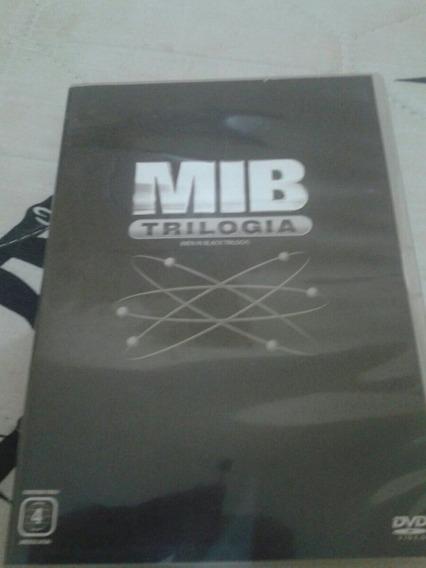 Trilogia Mib Homens De Preto Original