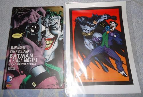 Batman - A Piada Mortal, Capa Dura, Álbum De Luxo + Brinde