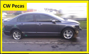 Sucata New Civic Para Retirar Peças Motor/porta/radas/