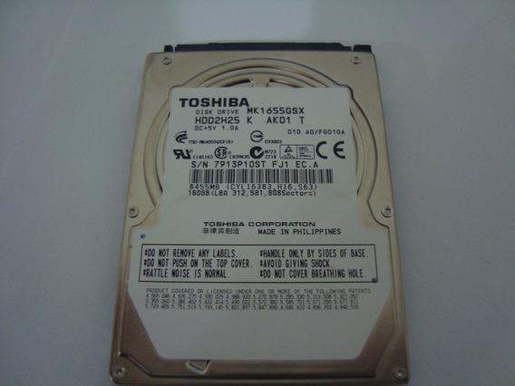 Hd Toshiba 160gb - Usado - Defeito
