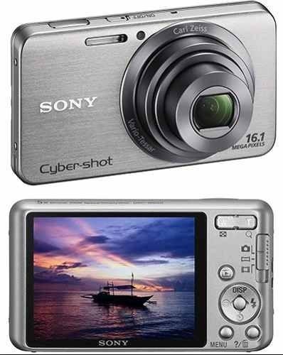 Imagem 1 de 5 de Sony Câmera Digital Cyber-shot Dsc-w630 16 Megapixels