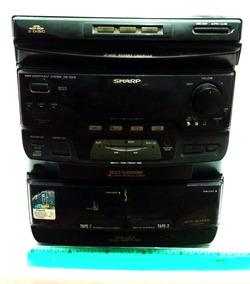 Sharp Cd-c570x Mini System Radio Para Retirar Peças