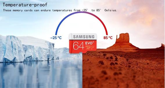 Samsung Evo + Cartão De Memória De 128 Gb/64gb