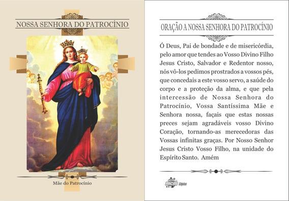 Nossa Senhora Do Patrocinio (500 Santinhos) Frete Grátis