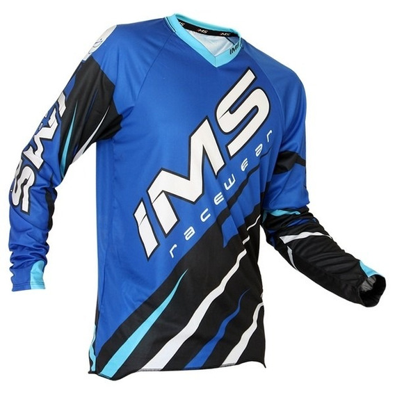 Camisa Ims Action 2016 (azul, P)