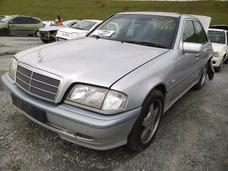 Mercedes C280 Amg V6 97/98 Motor 2.8 Cambio Peças Sucata Abs