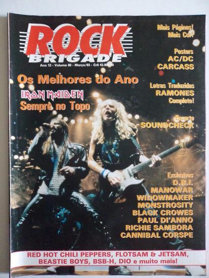 Revista Rock Brigade Ano 12 - Volume 80