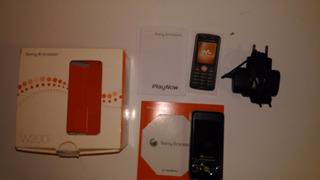 Celular Sony Ericsson W200 Com Defeito
