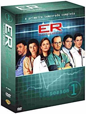 Box Plantão Médico Er Dvd Primeira Temporada Digistack Raro