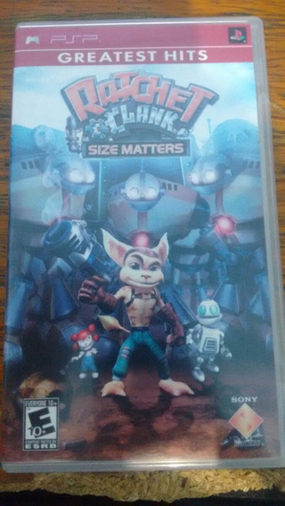 Ratchet Clank Size Matters Greatest Hits Sony Psp Campinas