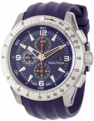 Relógio Nautica N17592g Só A Pulseira Nova P. Entrega