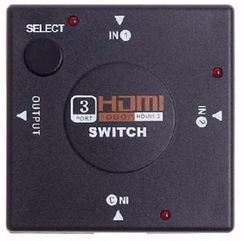 Hub Switch Hdmi 3 Portas