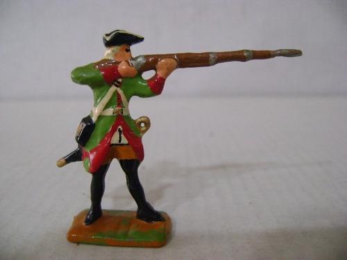 Imagen 1 de 6 de Nico Un Fusilero En Combate Soldados De Plomo (pmv 35b)
