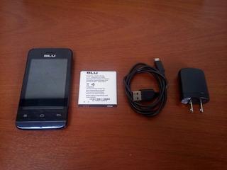 Celular Blu Neo Jr S370 Dark Blue Novo!!