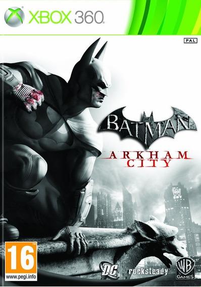 Jogo Batman Arkham City Xbox 360 Leg Português Frete Grátis