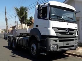 Caminhão Mb 3344 Ano 2014 6x4 Traçado Baixa Quilometragem...