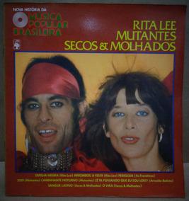 Mutantes Secos Molhados Ney Rita Lp + Fascículo Hist Da Mpb