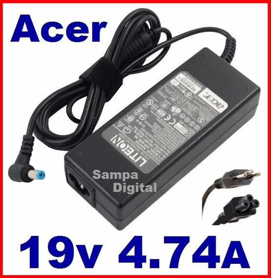 Fonte Carregador Acer Aspire 4520 4530 5315 19v 4.74a 90w
