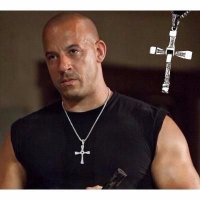 Cordão Cruz Masculino Dominic Toretto Velozes E Furiosos