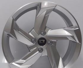 Jogo Roda Audi A7 Rs7 Aro 15 4/ 5 Furos Gol Gol Onix+pneus
