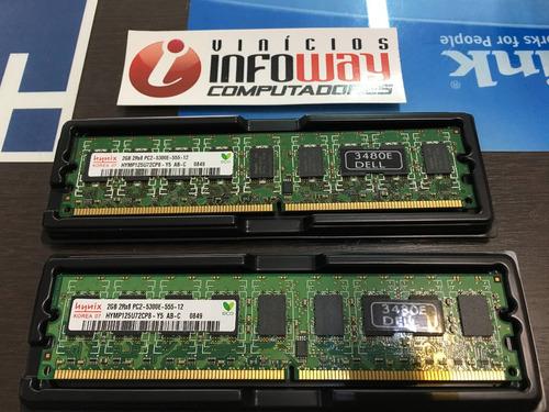 Memoria 2gb Ecc Ddr2 Pc2-5300e Ibm Bladecenter H Type 8852